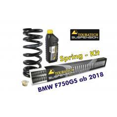 Muelles progresivos para horquilla y tubo amortiguador, BMW F750GS desde el año 2018
