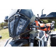 Protector de faros con cierre rápido para KTM 390 / 790 Adventure / 790 Adventure R / KTM 890 Adventure