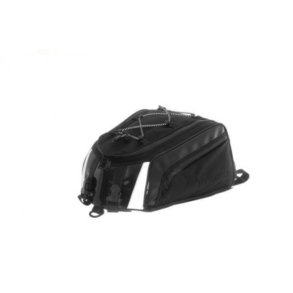 "Bolsa para asiento trasero ""Add Bag"" universal ampliación de la bolsa para asiento trasero ""Travel Bag Black Edition"""