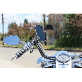 Soporte RAM Tough-Claw ™ (con pinza para manillar) con soporte universal para teléfono grande X-Grip®