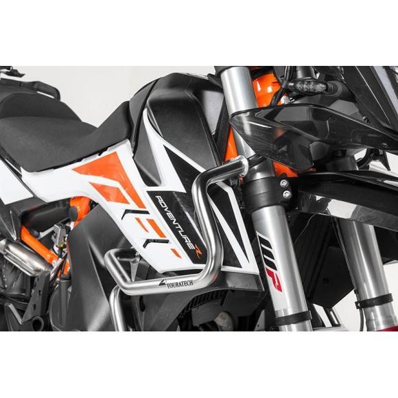 Estribo de protección superior de acero inoxidable para KTM 790 Adventure/ 790 Adventure R