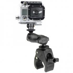 RAM® Tough-Claw™ Pinza pequeña con soporte para cámara de acción