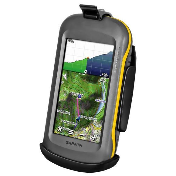 Soporte RAM para Garmin GPS Montana *no se puede cerrar con llave*
