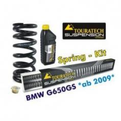 Muelles progresivos de intercambio Hyperpro para horquilla y tubo amortiguador, *BMW G650GS 2009*