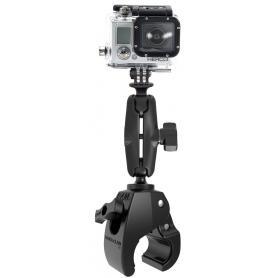 Soporte mediano RAM Tough-Claw con adaptador universal para cámara de acción