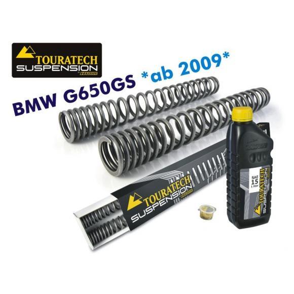Muelles de horquilla progresivos para BMW G650GS