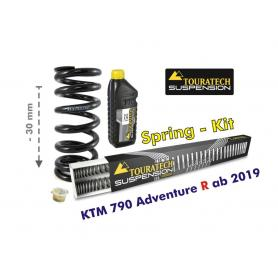 Ajuste de suspensión en -30mm KTM 790 Adventure R (2019-) muelles de intercambio.