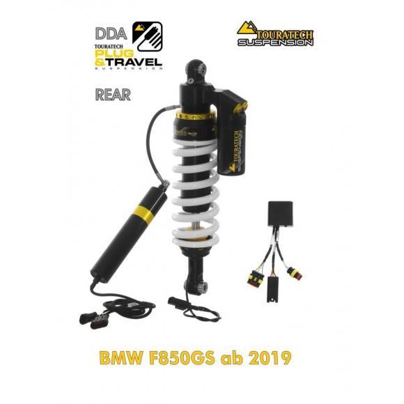 """Tubo amortiguador de Touratech Suspension """"detrás"""" para BMW F850GS desde 2018 DDA / Plug & Travel"""