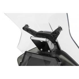 Adaptador de montaje de acero para dispositivos de navegación GPS de Touratech para KTM 790 Adventure / 790 Adventure R