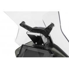 Adaptador de montaje por encima de los instrumentos Touratech para GPS en KTM 390 / KTM 790 ADV / 790 ADV R / 890 ADV / R
