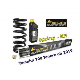 Resortes progresivos de intercambio para horquilla y tubo amortiguador, Yamaha 700 Tenere (2019-) + muelles de intercambio