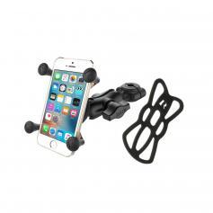 Soporte Universal para smartphone RAM® X-Grip® con kit de sujeccion barra de manillar RAM® Torque ™ -