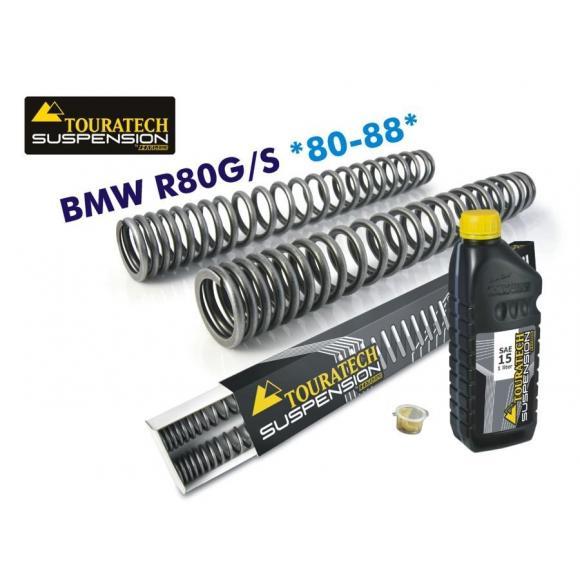 Muelles de horquilla progresivos para BMW R 80 G/S