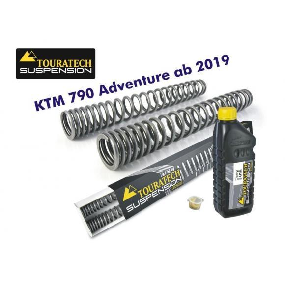 Muelles de horquilla progresivos para KTM 790 Adventure
