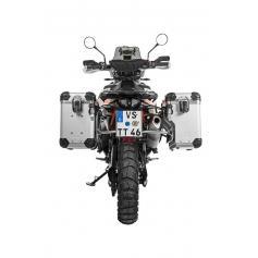 Sistema de maletas Zega Evo X para KTM 790 Adventure / 790 Adventure R - con escotadura para tubo de escape