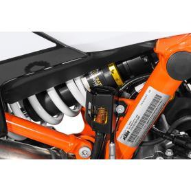 Protección del depósito del líquido, de frenos trasero, negro para KTM 790 Adventure / Adventure R