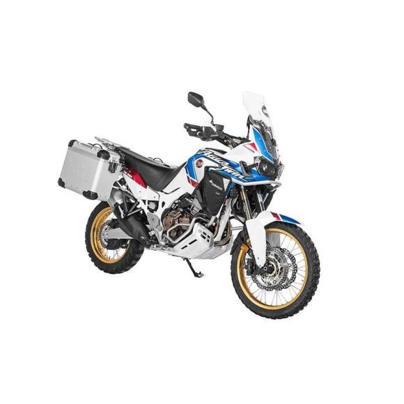 "ZEGA Evo ""And-S"" 38/38 litros con soporte acero inoxidable para Honda CRF1000L Africa Twin / CRF1000L Adventure Sports"