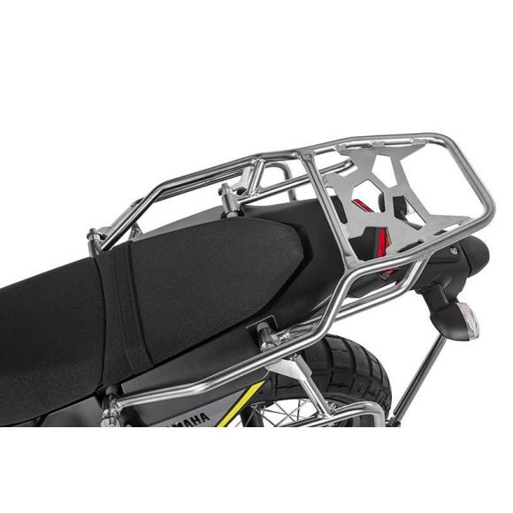 Topcase Zega en acero inoxidable para Yamaha Tenere 700