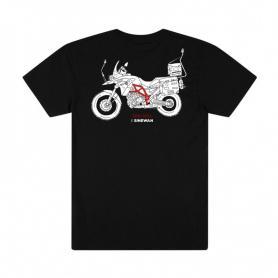 Camiseta Rapida y Furiosa para hombre de Charly Sinewan
