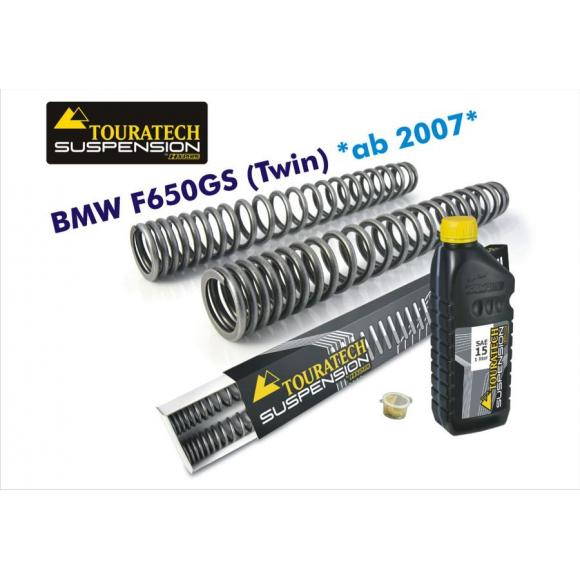 Muelles progresivos de horquilla de intercambio, BMW F650GS (Twin) 2008-2012