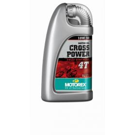 Motorex oil - Cross Power 4T 10W/ 50 - 1 Ltr.
