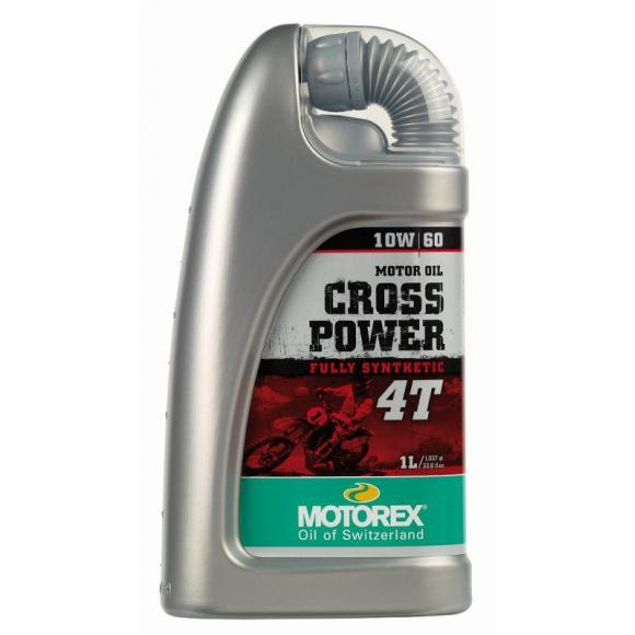 Motorex oil - Cross Power 4T 10W/ 60 - 1 Ltr.