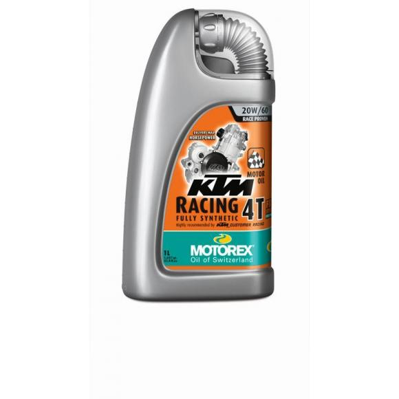 Motorex oil - KTM Racing 4T 20W/ 60 - 4 Ltr.