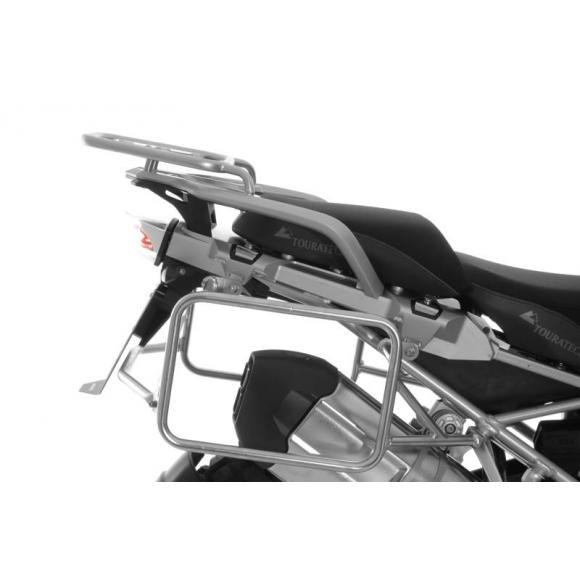 Portamaletas de acero inoxidable para BMW R1250GS / R1250GS Adventure / R1200GS desde 2013 / R1200GS Adventure desde 2014