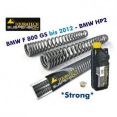 Muelles progresivos de repuesto para la horquilla, BMW F800GS *con depósito grande* / BMW HP2