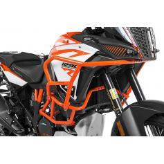 Ampliación del estribo de protección naranja para KTM 1290 Super Adventure S / R