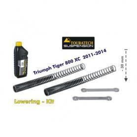 Ajuste de suspensión en 30mm Triumph Tiger 800 2011-2014 *muelles de intercambio de palanca*