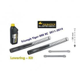 Ajuste de suspensión en 30mm Triumph Tiger 800XC 2011-2014 *muelles de intercambio de palanca*