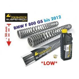 Muelles de horquilla progresivos para BMW F800GS hasta 2012 *ajuste de suspensión inferior en 50mm*