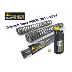 Muelles de horquilla progresivos, Triumph Tiger 800XC 2011-2014