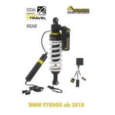 """Tubo amortiguador de Touratech Suspension """"detrás"""" para BMW F750GS desde 2018 DDA / Plug & Travel"""