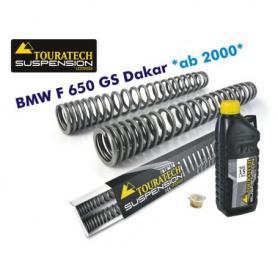 Muelles de horquilla progresivos para BMW F650GS *Dakar*