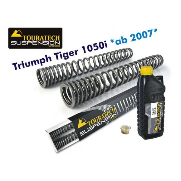 Muelles de horquilla progresivos, Triumph Tiger 1050i *desde el año 2007*