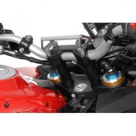 Elevador de manillar de 20 mm, Typ 33, para la Ducati Multistrada 1200 hasta 2014