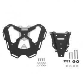 "Portaequipajes de aluminio y acero inoxidable ""negro"" para KTM 1050 Adventure/ 1090 Adventure/ 1290 Super Adventure/ 1190 Adventure(R)"