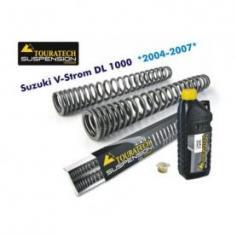 Muelles de horquilla progresivos, Suzuki V-Strom DL 1000