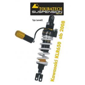 Touratech Tubo amortiguador de la suspensión para Kawasaki KLR650 de 2008 tipo Level2 / Explore HP