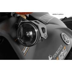 Faros adicionales LED antiniebla derecha, luz de carretera izquierda negro, para Yamaha XT1200Z Super Tenere