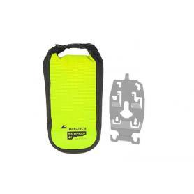 """Porta accesorios ZEGA Evo con bolsa adicional Touratech Waterproof """"High Visibility"""", talla L"""