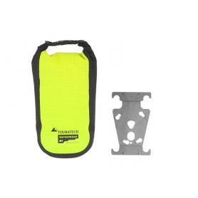 Porta accesorios ZEGA Pro / ZEGA Mundo con bolsa adicional impermeable Touratech High Visibility, talla S
