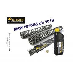 Muelles de Horquilla Progresivos para BMW F850GS / ADV (2018-) con reducción de -25 mm