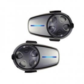 DUAL PACK SENA SMH10 - Auriculares e intercomunicadores Bluetooth® para motocicletas