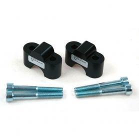 Elevadores de manillar 25mm TYP 7 para BMW R1100GS / R1150GS y Honda Transalp / XRV750 / Varadero