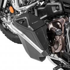 Caja de herramientas con barra de protección del motor izquierda para Yamaha Tenere 700