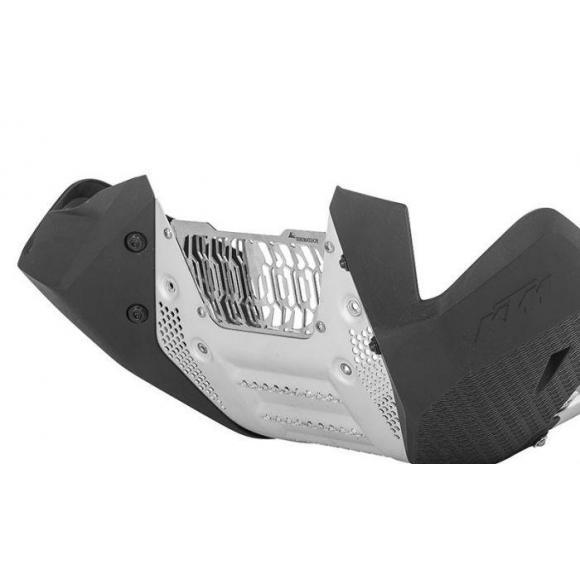 Rejilla de protección para el cubrecarter Rally Evo de KTM 790 Adventure / ADV R