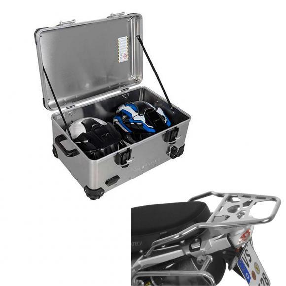 Pack Equipaje Topcase Zega EVO XXL con soporte para BMW R1250GS / R1250GS ADV / R1200GS / R1200GS ADV